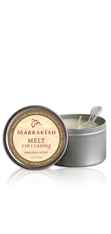 Marrakesh 3 IN 1 Candle Melt Original - Свеча 3 в 1 для тела
